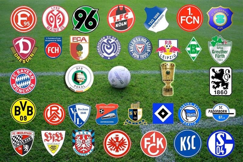 Dfb-Pokal Mannschaften
