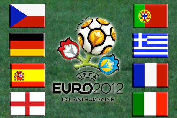 Viertelfinalteilnehmer der Fußball-Europameisterschaft 2012 stehen fest