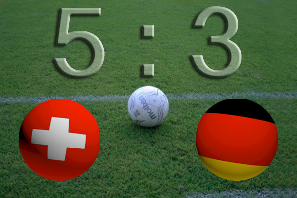 DFB-Auswahl verliert Testspiel gegen die Schweiz mit 5:3