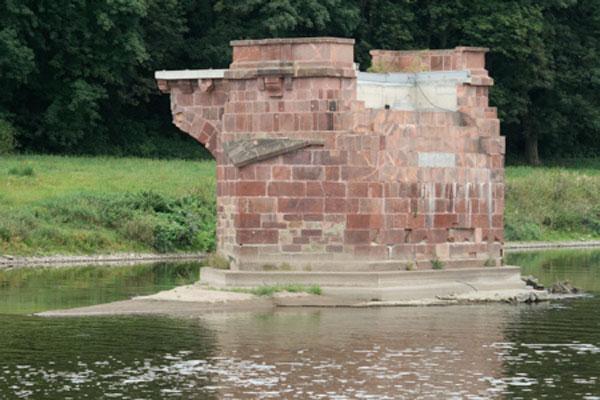 Pöppelmann - das Leben einer Brücke - neue Ausstellung zur Jahrhundertflut-Brücke in Grimma