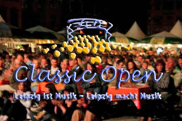 18. Classic Open starten auf dem Leipziger Markt