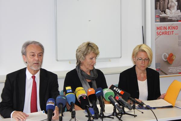 Siegfried Haller, Sybill Radig und Sylke Lein (v.l.n.r)