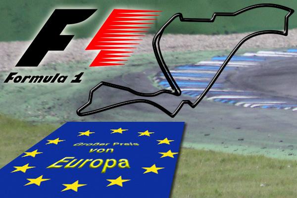Formel 1 - Sebastian Vettel beim Europa GP in Valencia auf Pole