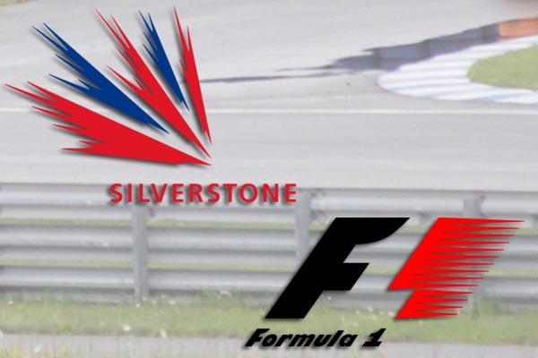 Webber, Alonso und Vettel auf dem Podium in Silverstone