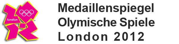 Medaillenspiegel - XXX. Olymische Sommerspiele London 2012