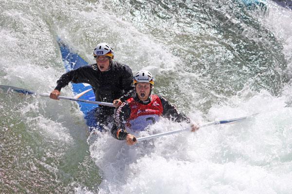 Leipziger Slalomkanuten David Schröder und Frank Henze bei Olympia ausgeschieden
