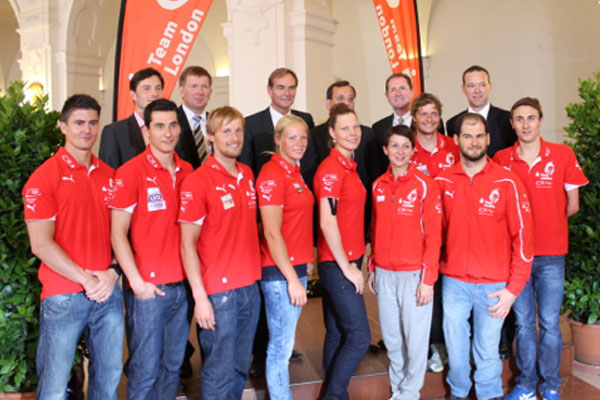 Olympiateilnehmer aus Leipzig offiziell verabschiedet