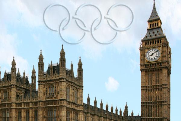 Der Countdown für die Eröffnung der Olympischen Spiele in London läuft