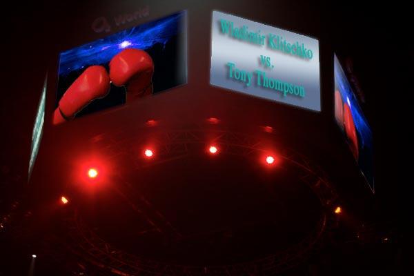 Tony Thompson kein Gegner für Wladimir Klitschko