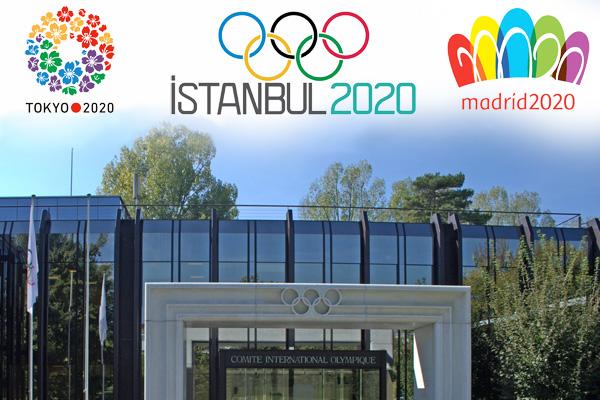 Candidate Cities für die Olympischen Spiele 2020 sind Istanbul, Madrid und Tokio