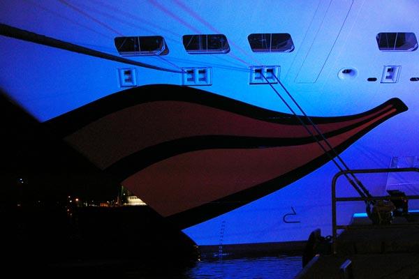 Neuntes Schiff der AIDA-Flotte in Hamburg getauft