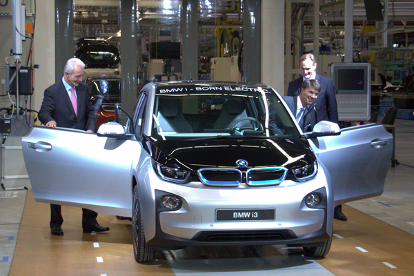 BMW i3 gewinnt German Design Award 2014