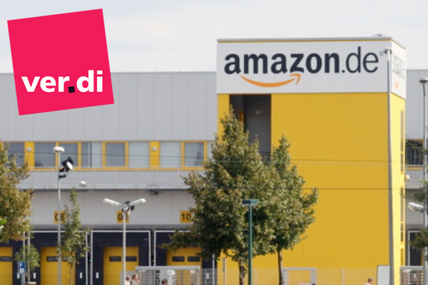 Erneuter Streik bei Amazon in Leipzig