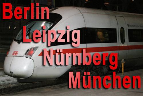 ICE fährt wieder stündlich auf der Strecke Berlin-Leipzig-München
