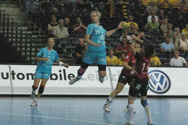 HC Leipzig gewinnt in Celle sein elftes Bundesligaspiel in Folge