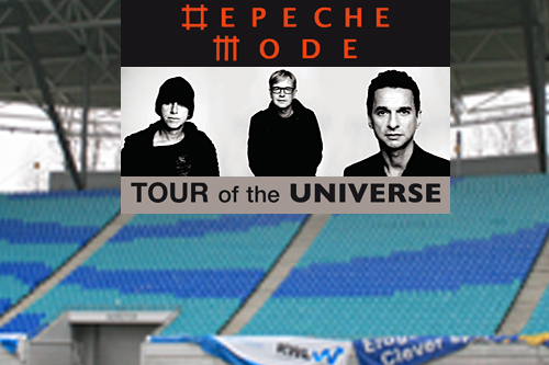 Depeche Mode - Tour of the Universe - auch in Leipzig