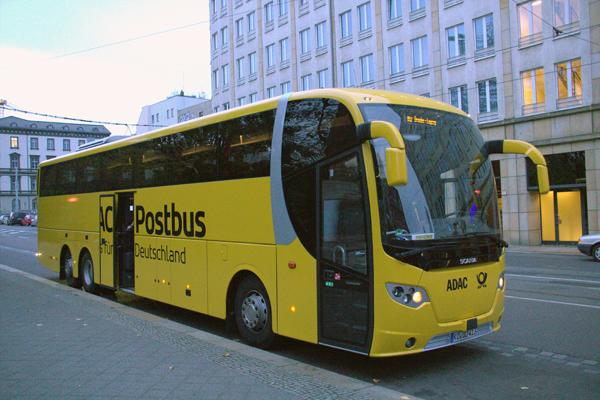 Postbus Frankfurt Köln