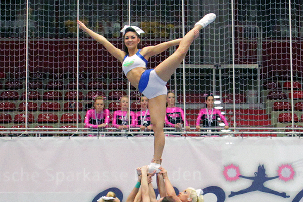 European Cheermasters locken über 800 Sportler in den Magdeburger Elbauenpark