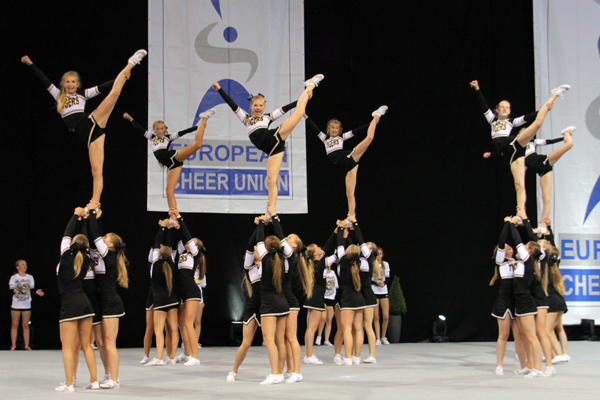 Ergebnisse der ECU Cheerleading-Europameisterschaft (Juniors) 2014 in Bonn
