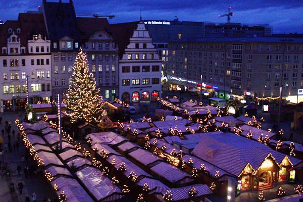 Leipziger Weihnachtsmarkt.Am Samstag Ist Lange Nacht Auf Dem Leipziger Weihnachtsmarkt